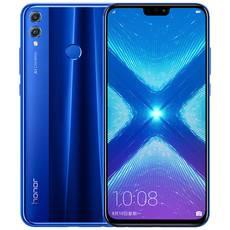 華為/HUAWEI  榮耀8x 4+64GB 全網通手機 黑色 藍色