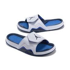 耐克乔丹7代飞人拖鞋魔术贴凉鞋休闲男女沙滩鞋