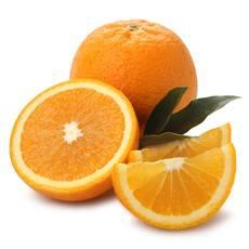 小呆妞 埃及进口橙子8只装单果180-220g新鲜水果