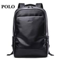 POLO 男士双肩包背包男包学生休闲时尚书包