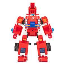奥迪双钻 儿童玩具5岁以上男孩女孩玩具乐迪变形消防车 HA385005