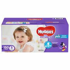 好奇/Huggies Little Movers Plus+ 尺寸5